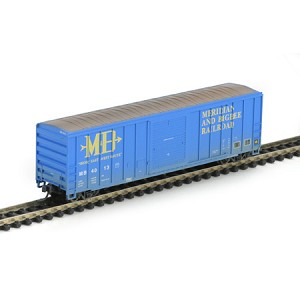 N RTR 50' FMC Box/Weathered, M&B #4013