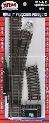 Code 83 Snap-Switch(R) Remote Turnout -- 18