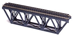 Deck Truss Bridge with Code 83 Rail