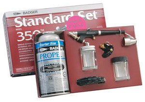 Badger, 350 Airbrush Set with Propellant
