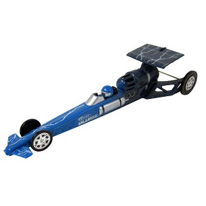 2502 Blue Blurzz Dragster