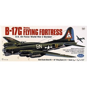 Guillows Balsa Wood Kit - Boeing B17G Flying Fortress