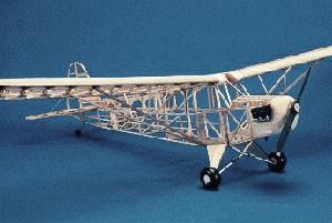 Herr Engineering Balsa Plane Kit Piper J 3 Cub Balsa Plane