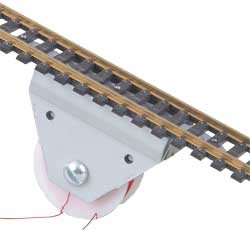 Under-the-Ties Electric Uncoupler -- Fits Any Code Rail