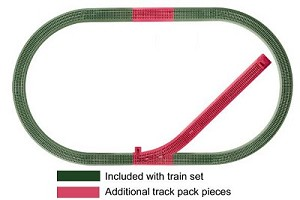 O FasTrack Siding Track Pack