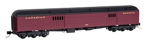 Micro-Trains, 147 00 080, Express Baggage Car - Canadian Pacific #4554