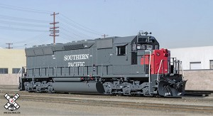 Rivet Counter HO Scale EMD SD45, Southern Pacific (R1), 8810/DCC & Sound Equipped