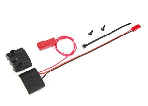 Traxxas 6549 Connector, power tap (with voltage sensor)/ wire tie/ 2.6x8 BCS (2)