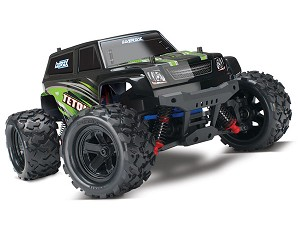 LaTrax Teton: 1/18 Scale 4WD Electric Monster Truck - GREEN