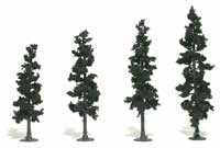 Woodland Scenics Realistic Trees Kits(TM) - Pines -- Conifer Green - 4 to 6