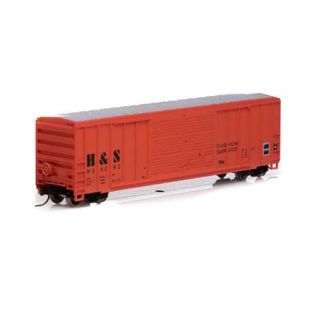 N 50' FMC Centered Double Door Box, H&S #4082