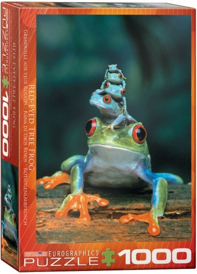 Red-Eyed Tree Frogs Puzzle (1000pc)