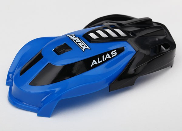 Traxxas 6612 Canopy ,  Alias® ,  blue /  1.6x5mm BCS (self-tapping) (3)